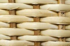 Texture en bois de rotin Images libres de droits