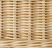 Texture en bois de rotin Image stock