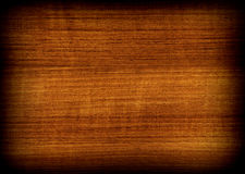 Texture en bois de teck Photo libre de droits