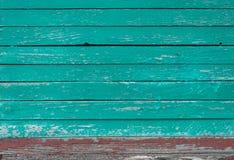 texture en bois de turquoise Image libre de droits