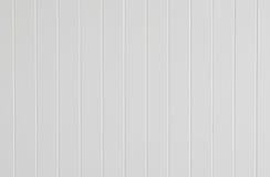 Texture en bois de verticale de cannelure de mur blanc Image libre de droits