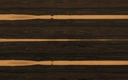 Texture en bois de Ziricote Photo stock