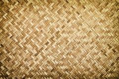 Texture en bois en bambou Image stock