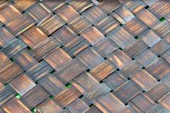 Texture en bois en bambou Photo libre de droits