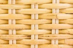 Texture en bois en bambou Image libre de droits