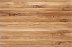 Texture en bois en bambou de fond Photos libres de droits