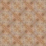 Texture en bois en bambou sans couture avec le modèle carré Photographie stock libre de droits