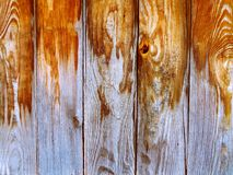 Texture en bois faite de planches en bois Images stock