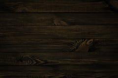 Texture en bois foncée Photos libres de droits