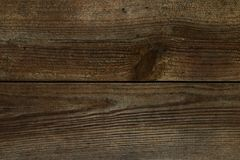 Texture en bois foncée, panneau en bois, fond, vide image libre de droits