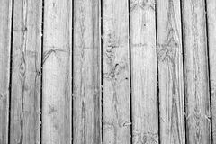 Texture en bois, fond en bois blanc, vintage Grey Timber Plank Wall Photo libre de droits