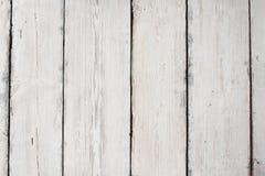 Texture en bois, fond en bois blanc Photographie stock libre de droits