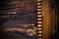 Texture en bois fumée abrégez le fond Photos libres de droits
