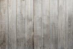 Texture en bois grise de fond de barrière Photo stock