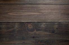 Texture en bois grunge de panneau de vintage de Brown vieille image stock