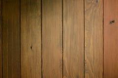 Texture en bois Horizantal de Brown foncé image stock