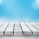 Texture en bois légère Photographie stock