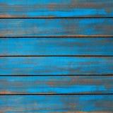 Texture en bois lavée par bleu vieux panneaux de fond image stock