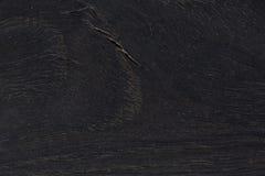 Texture en bois naturelle noire Photos stock