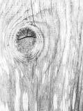 Texture en bois noire et blanche images libres de droits