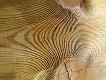 Texture en bois nouée Image libre de droits