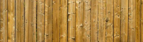 Texture en bois panoramique Photographie stock libre de droits