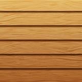 Texture en bois réaliste Fond des panneaux en bois Contexte en bois de vecteur Images libres de droits