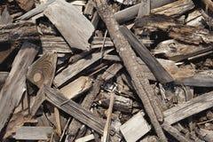 Texture en bois réutilisée Photographie stock