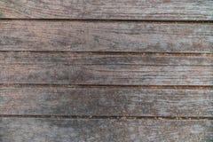 Texture en bois, rayures horizontales foncées Image libre de droits