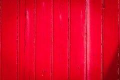 Texture en bois rouge Photographie stock