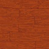 Texture en bois tirée par la main de vecteur Images stock