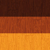 Texture en bois tirée par la main de vecteur Images libres de droits