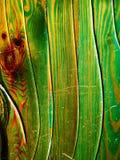 Texture en bois verte Image libre de droits