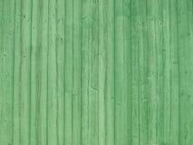 Texture en bois verte Images libres de droits