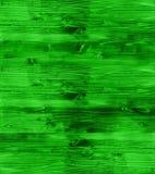 Texture en bois verte au néon comme texture de fond Images libres de droits