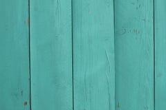 Texture en bois verte de fond Photos stock