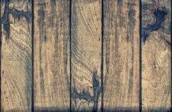 Texture en bois Vintage en bois superficiel par les agents de fond modifié la tonalité Photo libre de droits