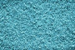 Texture en cristal des minerais de couleur azurée Photographie stock libre de droits