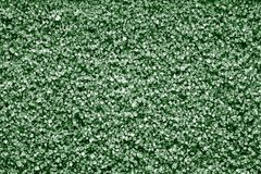 Texture en cristal des minerais de couleur verte Images stock