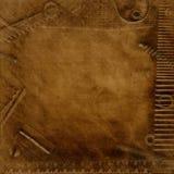 Texture en cuir photo stock