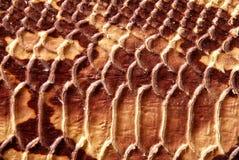 Texture en cuir augmentée Images stock