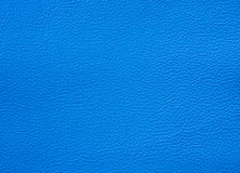 Texture en cuir bleu-clair Photos stock