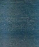 Texture en cuir bleue Image libre de droits