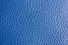 Texture en cuir bleue photos libres de droits
