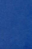 Texture en cuir bleue Image stock