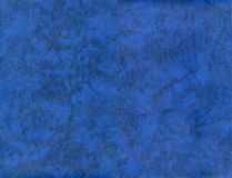 Texture en cuir bleue du QG XXL Photographie stock