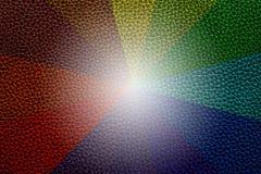 Texture en cuir colorée de sofa Photos libres de droits