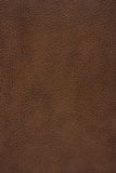 Texture en cuir de Brown Photographie stock