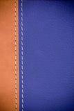 Texture en cuir de Brown photos stock
