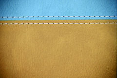 Texture en cuir de Brown Image libre de droits